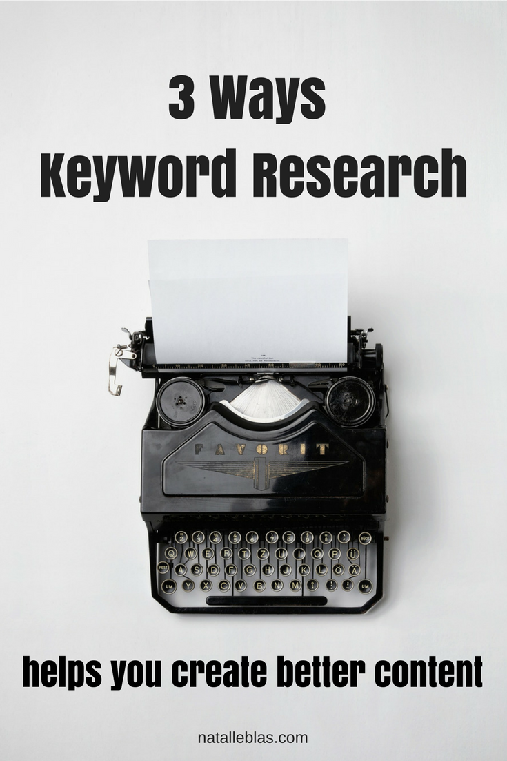 3 Ways Keyword Research Helps You Create Better Content