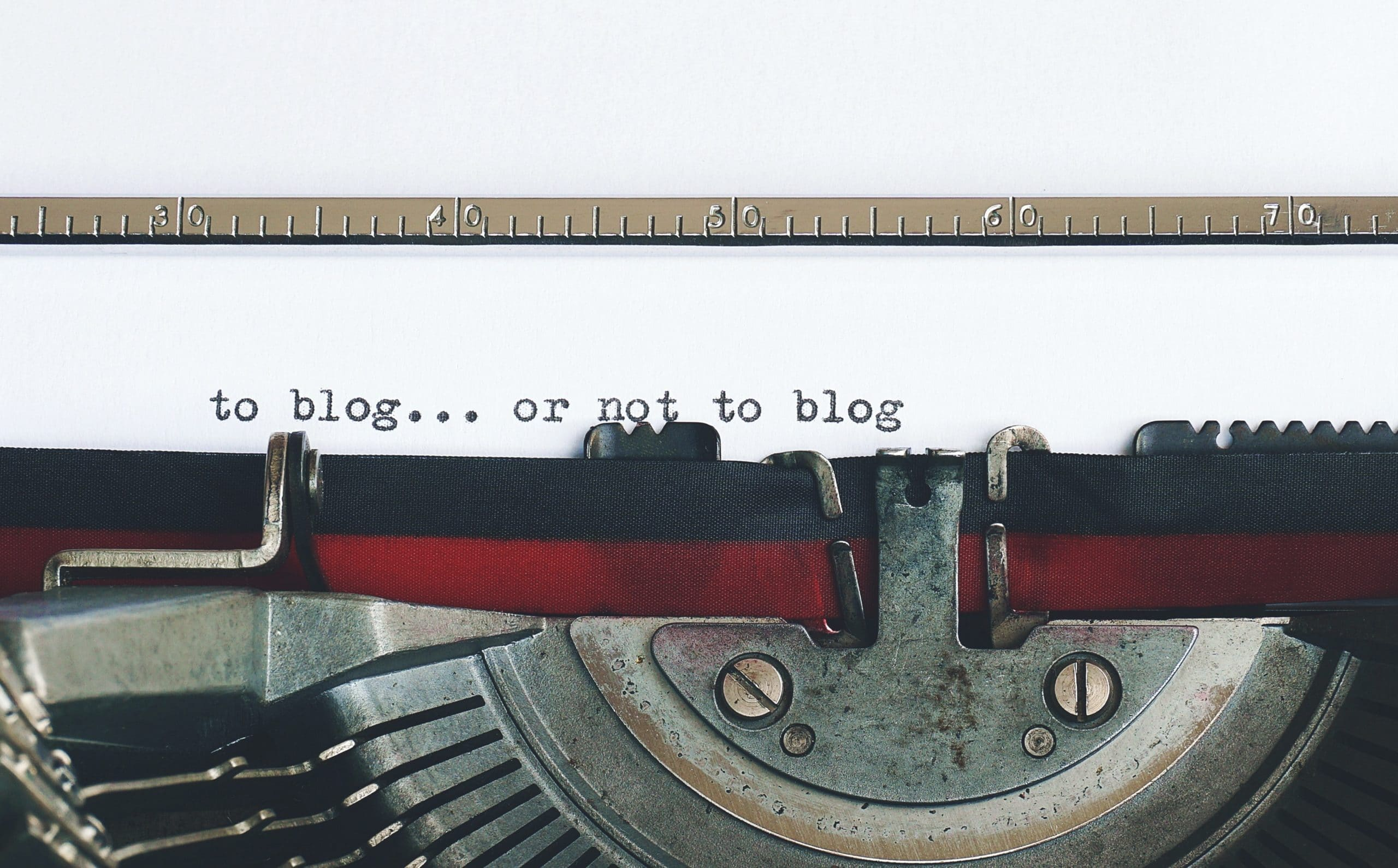 why you should blog for your business