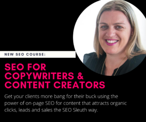 seo for copywriters course