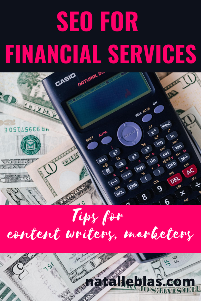 seo for financial services accountants bookkeepers