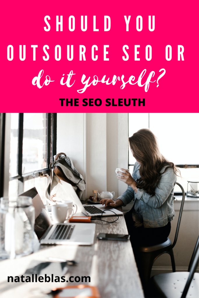 should you outsource seo